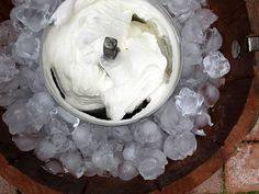 Coconut ice cream. My family would love this..