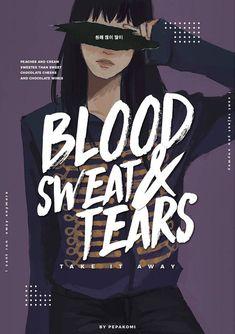 BTS- blood, sweat & tears