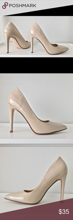 Call It Spring Coola Pointed Toe Heel Nude 7.5 Call It Spring Coola Pointed Toe Heel Nude 7.5 New Call It Spring Shoes Heels