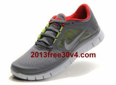on sale 151ec 99a01 RE3108 Womens Nike Free Run 3 Cool Grey Silver Sail University Red  life Free  Running