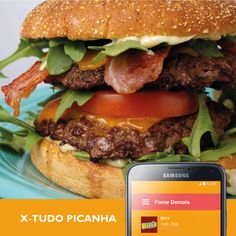 Se você olhou para esse hambúrguer e ainda não pediu, vamos te dar mais um incentivo: É tão delicioso quanto bonito *-*  #FomeDemais #Delivery #Bilis  Vai ficar só olhando? Peça agora, tem promoção ;)