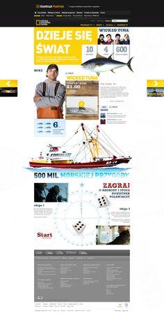 National Geographic Channel   Website design layout. Inspirational UX/UI design sample.  Visit us at: http://www.sodapopmedia.com #WebDesign #UX #UI #WebPageLayout #DigitalDesign #Web #Website