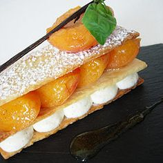 Apricot Mille-Feuille