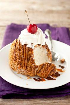 Cheaters Fried Ice Cream