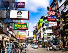 Japan or Thailand? Thaniya Road caters to Japanese tourists. This road is located in Si Lom Bangkok Thailand. Bangkok Thailand, Japanese, Japanese Language