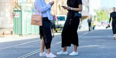 15 Chic Ways To Style White Sneakers