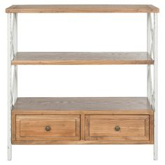 Found it at Wayfair - Chandra Console Table in Oak