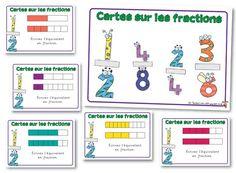Ideas For School - Activities - Equivalent Fractions Challenge Cards Fractions Équivalentes, Equivalent Fractions, Math 5, Fun Math, Fraction Activities, Math Activities, Decimal, Cycle 3, Math Manipulatives