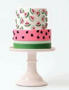 Watermelon cake / bolo melancia - Tortik Annushka Moscow Wedding and celebration cakes Pastry school @annushkaschool tortik-annuchka.com https://www.instagram.com/p/7-JEE2J0IQ/