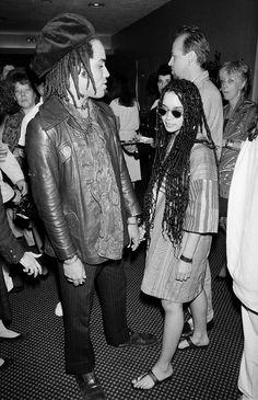 4c4b4597da6fe Lenny Kravitz and Lisa Bonet - Photo  Getty Images Lilakoi Moon