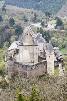Vianden Castle . Luxembourg