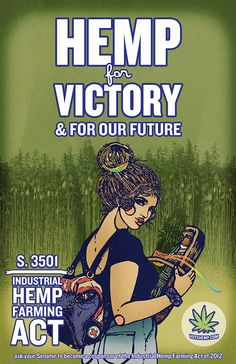 Hemp for Victory & for Our Future. - Industrial Hemp Farming Act-  Help our US Farmers save America!  ***George Washington was a Hemp Farmer ! ! !