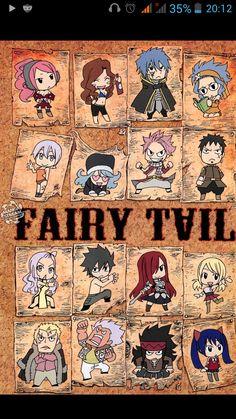 Fairy Tail | Chibi Style