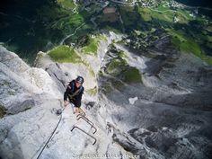Leukerbad Via Ferrata, Switzerland