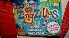 BBC Vivid ZingZillas: Zak Backpack Rucksack, Plays Tune! New in Clothes, Shoes & Accessories, Kids' Clothes, Shoes & Accs., Boys' Accessories | eBay