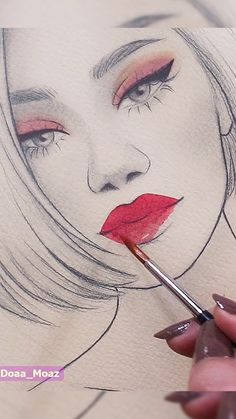 Art Drawings Beautiful, Art Drawings Sketches Simple, Pencil Art Drawings, Drawing Art, Watercolor Art Lessons, Oddly Satisfying, Beauty Art, Art Tutorials, Watch