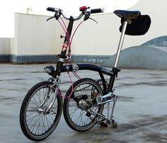 My Brompton folding bike | Flickr - Photo Sharing!