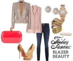 """""""Blazer Beauty"""" by alaceyperspective ❤ liked on Polyvore"""