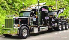 Doug Yates Towing & Recovery, Chattanooga TN - Peterbilt 379 w/ Century 70 ton rotator