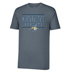 J America® NCAA® Montana State University Men's Short Sleeve Vital Tee