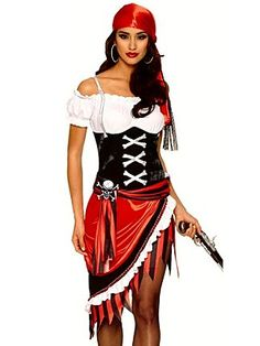 WOMEN'S SEXY PIRATE VIXEN COSTUME