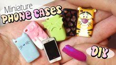 Cute & Easy Miniature Phone Case Tutorial // Doll/Dollhouse
