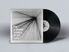 amp - Record Cover Design - I'd rather dance with you Dance With You, New Work, Cover Design, Photoshop, Gallery, Behance, Amp, Check, Roof Rack