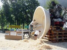 Weltrekord – Die größte gedrechselte Holzschale der Welt – Peter Andres