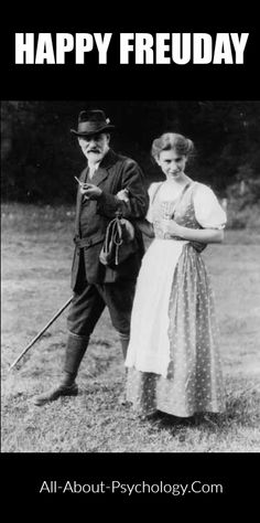 I've got that Freuday feeling! Have a great weekend everyone. http://www.all-about-psychology.com/sigmund-freud.html #SigmundFreud #psychology #AnnaFreud