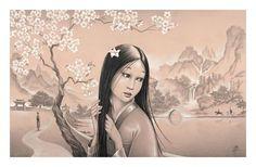 """Mulan 15x24"" by Edson Campos"