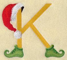 Elf Letter K