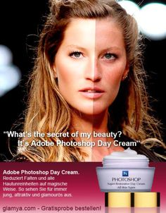 #Photoshop daycream : After/Before