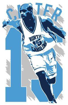 ***VINCE CARTER art print by artist Kyle Millar*** *ABOUT* -Printed on high-quality premium cardstock, this great Vince Carter art print will stand the test of time as only archival quality inks are used. -Frame(s) are NOT included. Unc Sports, Sports Memes, Chapel Hill Nc, Unc Tarheels, Bo Jackson, Tar Heels, College Basketball, Nba Players, Atlanta Braves