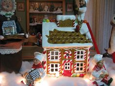 Gingerbread house luminary!
