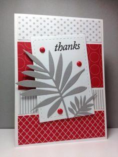 Palm Fancy die, HA, by beesmom - Cards and Paper Crafts at Splitcoaststampers