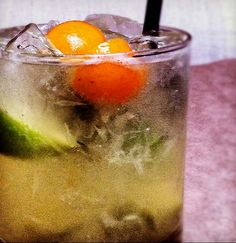 The Kumquat Caipirinha at Cliff's is a fresh and flavorful alternative to a gin & tonic