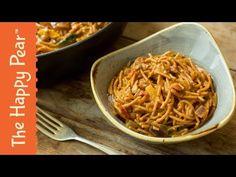 One Pot Spaghetti Bolognese | Easy Vegan Dinner - YouTube