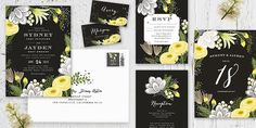 Gold Foil Wedding Stationery   Minted.com   Bridal Musings Wedding Blog