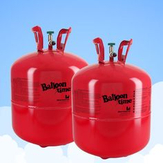 Helium Canister - For 60 Balloons, 2 x Gas Cylinders Super Saver Kit £34.98 2pk