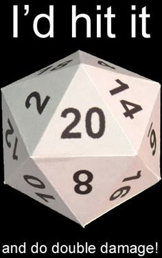 This die. (NOT dice.) | 19 Things Only RPG Nerds Will Find Funny