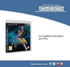 ¿Qué te parece la famosa serie de los caballeros del zodiaco en tu PS3? Costo del articulo puesto en El Salvador $63.97 http://amzn.com/B007ORIXIS   ¡Tú lo compras, nosotros te lo traemos!