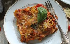 Bolognese Lasagna [Vegan, Gluten-Free] - One Green PlanetOne Green Planet