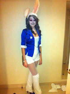 The White Rabbit from Alice in Wonderland Halloween Costume 2012
