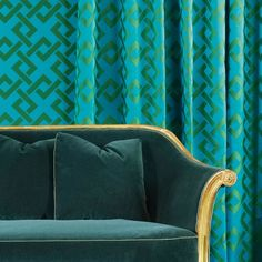 LOVE by Dedar - An elegant, dynamic geometric pattern. Colours draw inspiration from precious traditional Chinese silks.