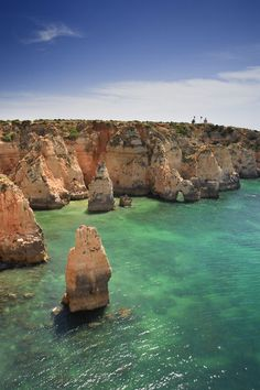 Portugal is definitely on the list. (Algarve, Portugal) portugal travel tips Places Around The World, Oh The Places You'll Go, Places To Travel, Places To Visit, Around The Worlds, Travel Pics, Wonderful Places, Great Places, Beautiful Places
