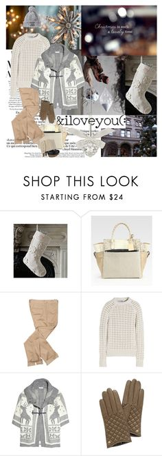 """""""Marry Christmas my sweeties))))"""" by natialordkipanidze ❤ liked on Polyvore featuring Lanvin, West Elm, Reed Krakoff, Jil Sander, See by Chloé, Mulberry and Marni"""