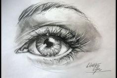 Hoe teken je een Super Realistisch Oog