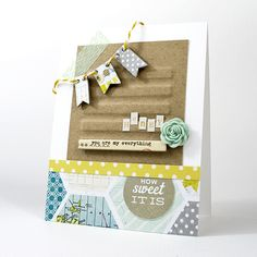 card featuring our June kit, SO CAL - by Shari Carroll