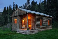 Mr & Mrs Smith - Dunton Hot Springs. Cozy cabin in the middle of nowhere