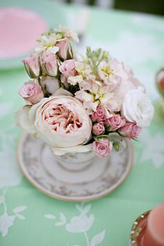 Peach & Mint Green English Garden Wedding Inspiration | Washington DC Weddings, Maryand Weddings, Virginia Weddings :: United With Love™ :: Fresh Inspiration, Ideas and Vendors